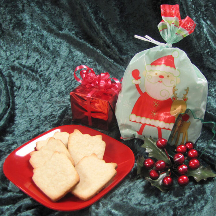 Roll-out Butter Cookies in a Treat Bag