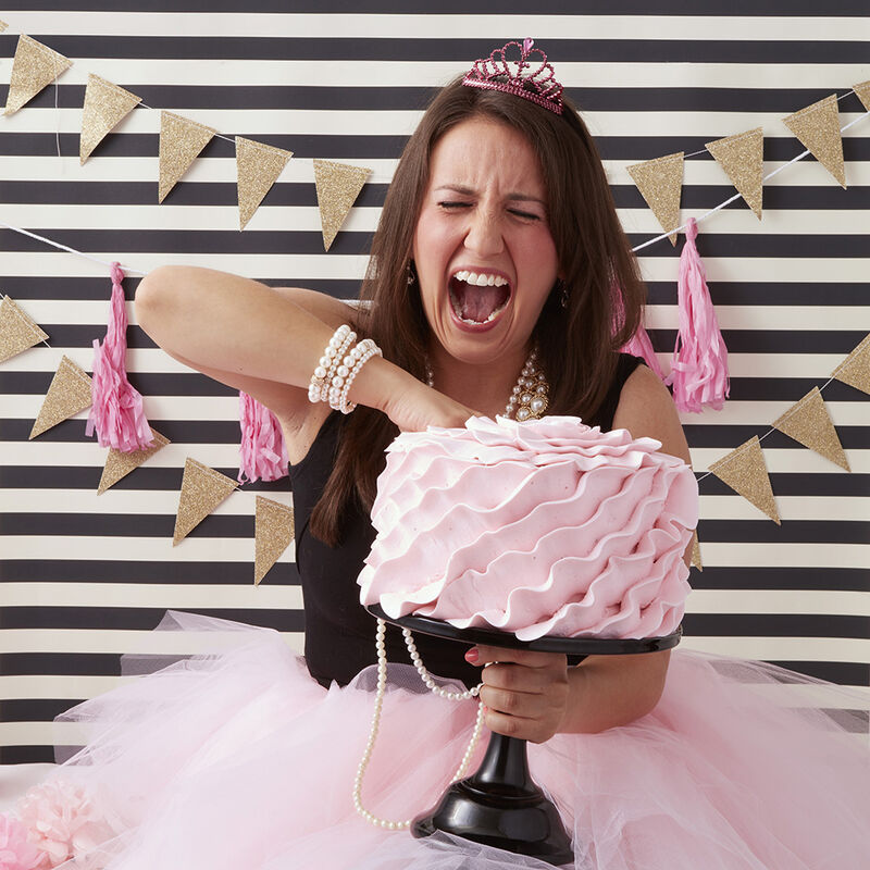 Pretty in Pink Adult Smash Cake image number 2