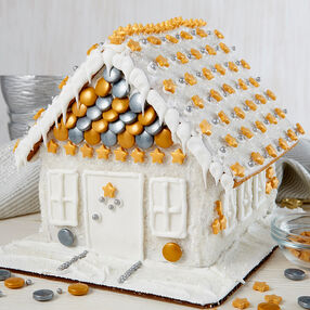 Shimmer-Sparkle Gingerbread House #2