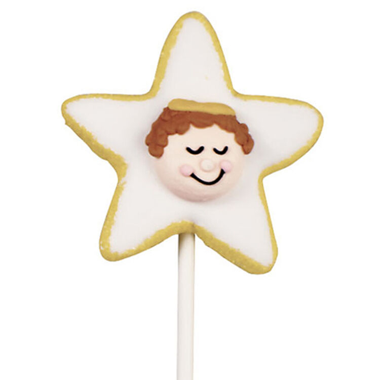 Star Angel Cookie Pop