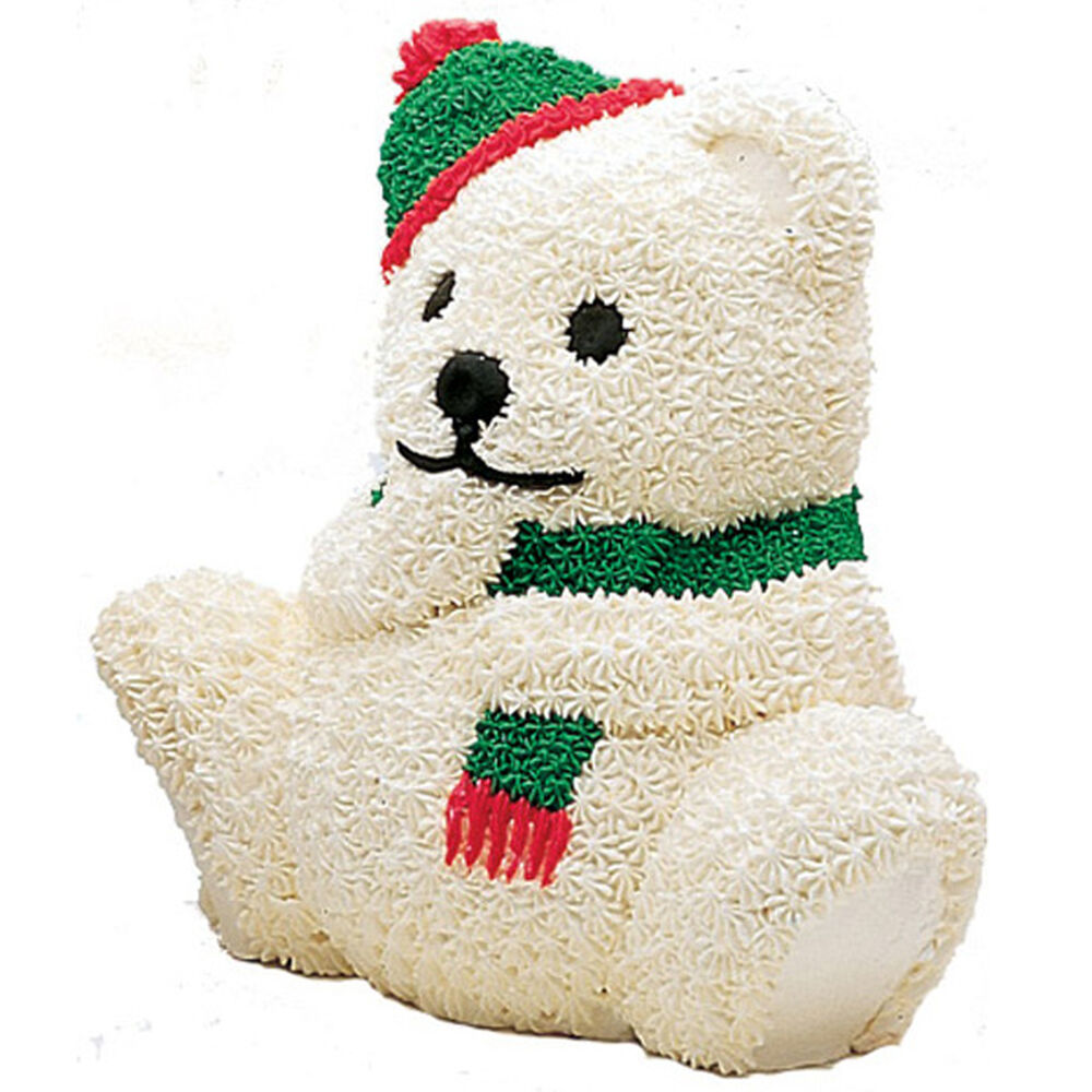 Christmas Bear Cake Wilton