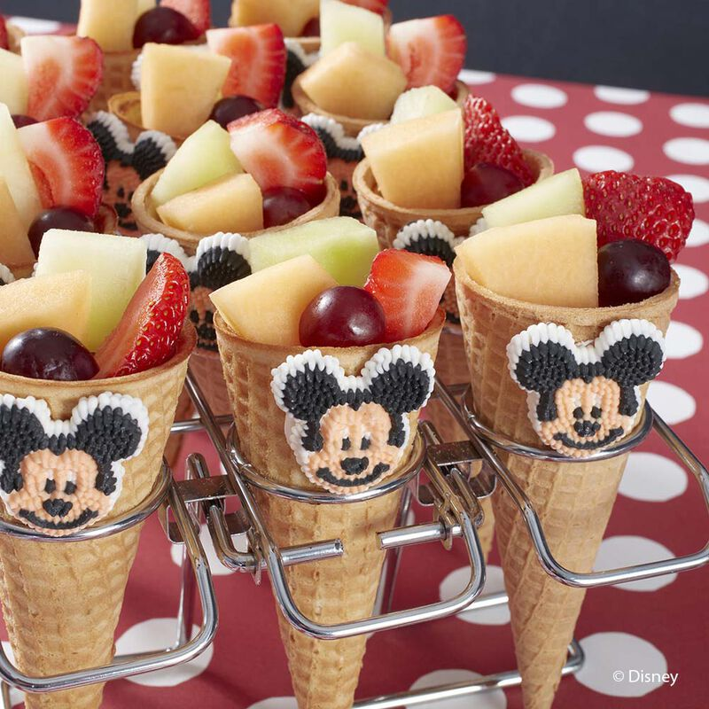 Wilton Mickey Mouse Fruit Cones image number 0