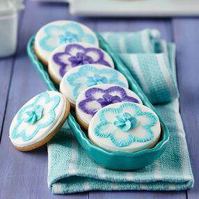 Fancy Floral Cookies