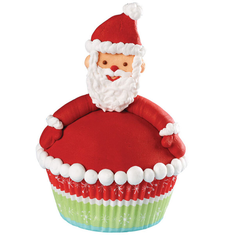 Festive Face Cupcakes image number 0