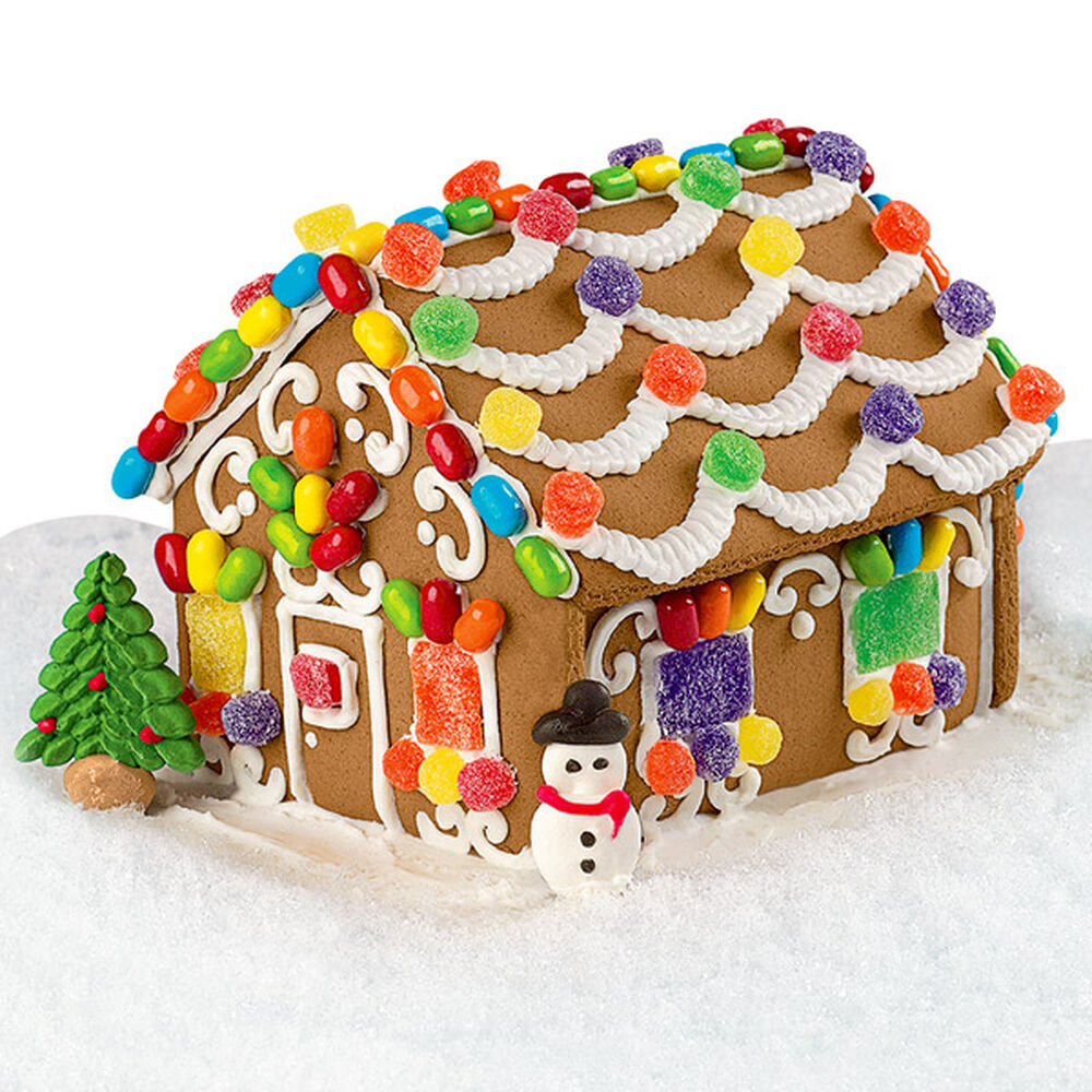 Cubicle Decorating Kits >> Candy Cottage Gingerbread House   Wilton