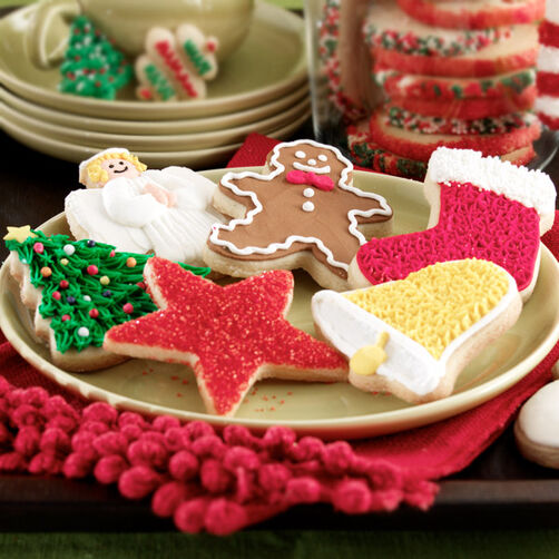 Traditional Cookies For Christmas Wilton