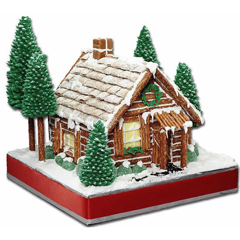 Rustic Retreat Gingerbread House image number 0