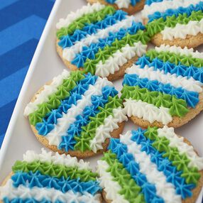 Wilton Easy Team Color Sugar Cookies