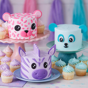 Wacky and Wild Animal Mini Smash Cakes