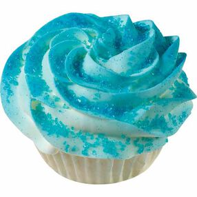 Blue Quick Color Cupcake