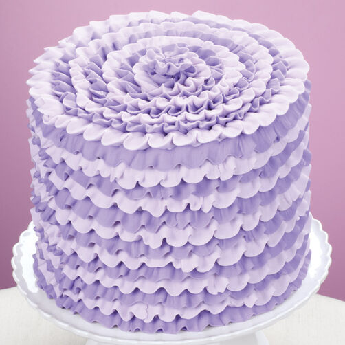 Decorator Tips: Party-Ready Violet Cake
