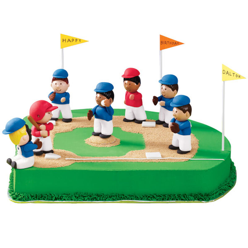 Birthday on the Basepaths Cake image number 0