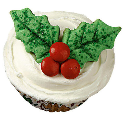 Holly Jolly Cupcakes