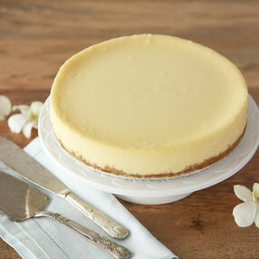 Creamy White Cheesecake