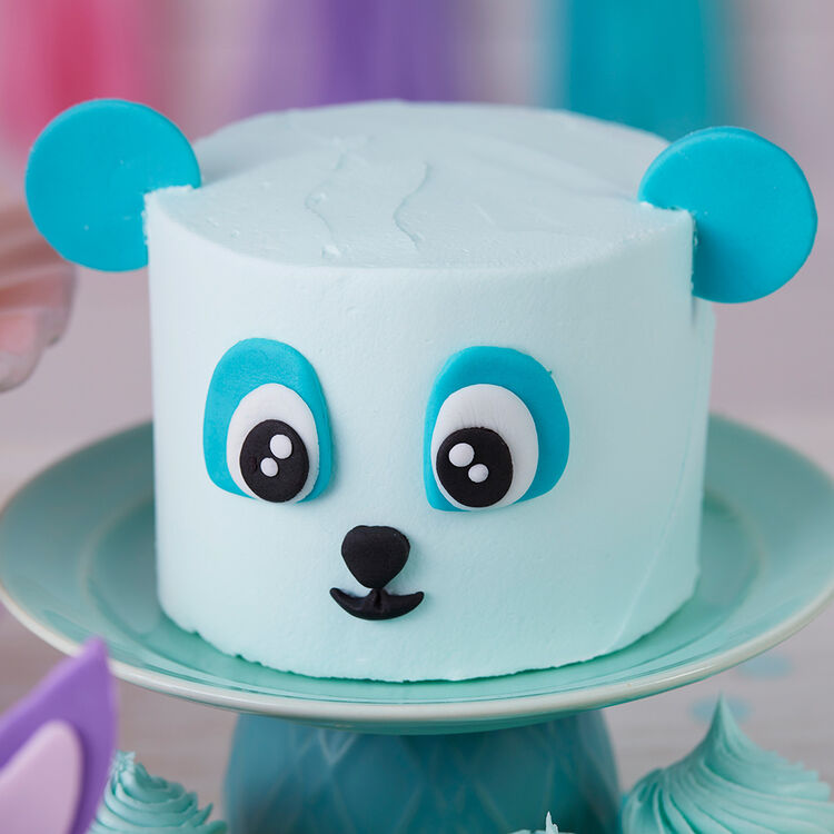 Wacky and Wild Panda Mini Smash Cakes