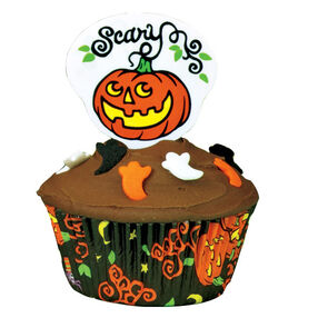 Ghostly Goodies Cupcake