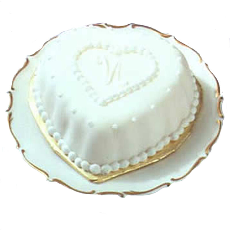 Fancy Hearts Mini Cake  image number 0