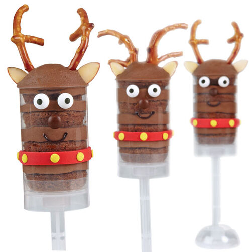 Reindeer Brigade Treat Pops