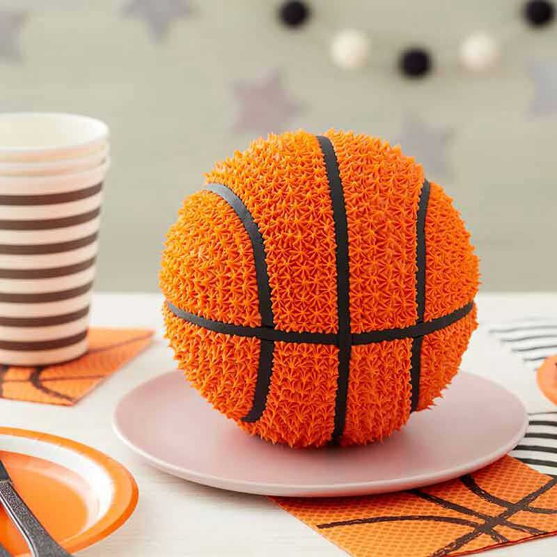 3D Basketball Birthday Cake image number 0