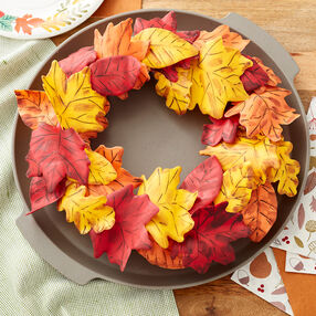 Pull-Apart Fall Wreath Cupcake Cake