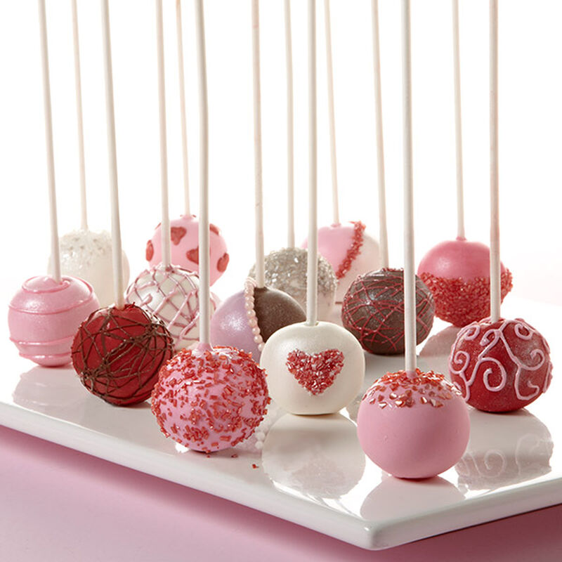 Valentine's Day Cake Ball Pops image number 0