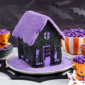 Halloween Sparkle Cookie House