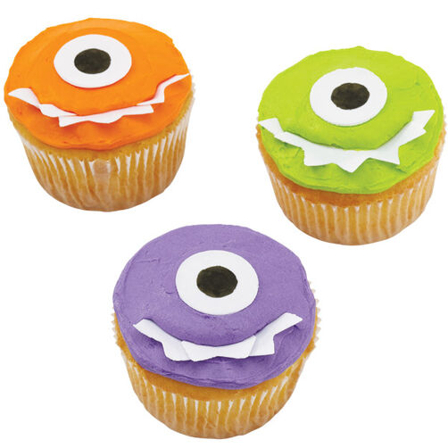 Grinning Goblin Cupcakes