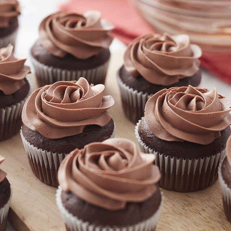 Chocolate Chocolate Cupcakes Recipe Wilton