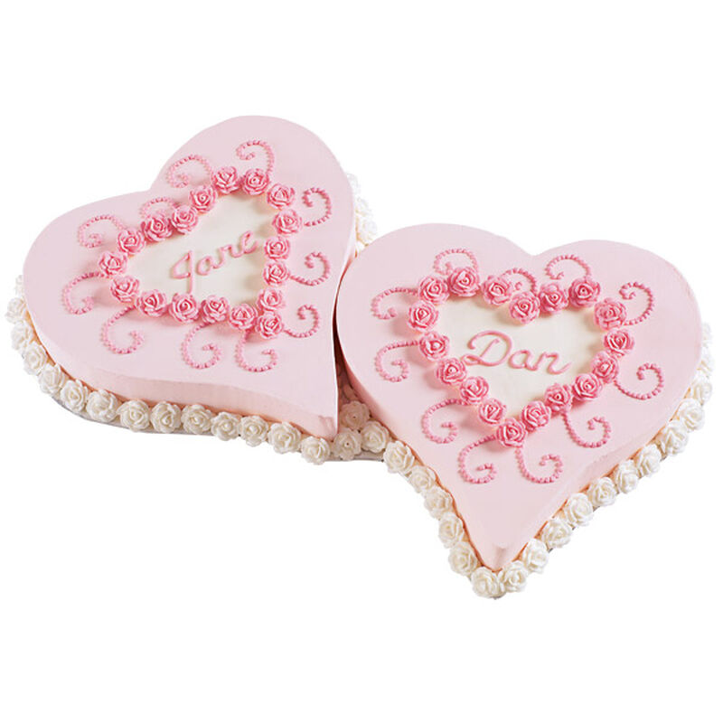 Pair of Hearts Cake image number 0