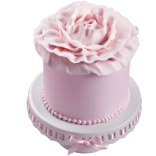 Rose Close-Up Cake