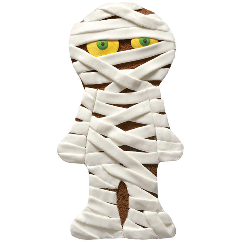 Mummy in Minutes Halloween Cake image number 0