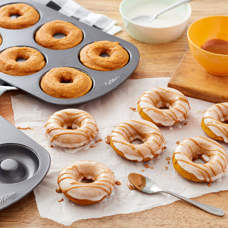 Pumpkin Spice Latte Donuts Recipe image number 0