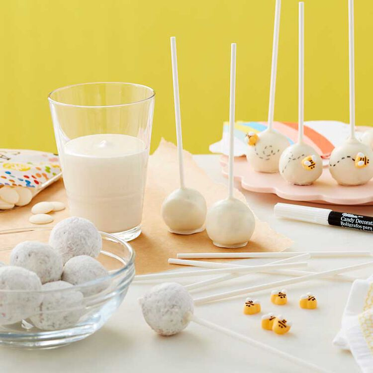Busy Bee Donut Cake Pops