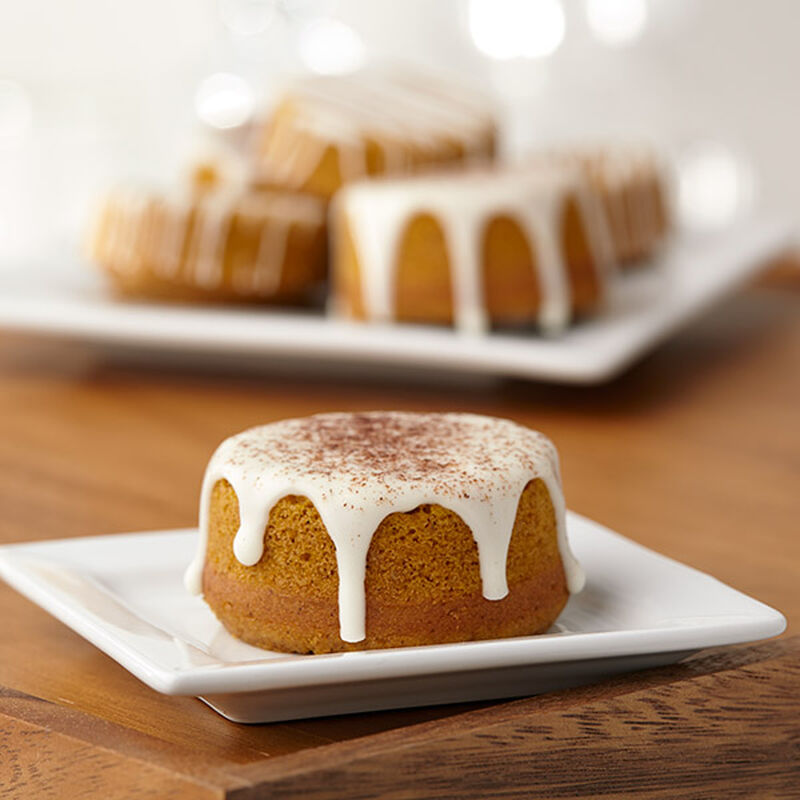 Pumpkin Spice Spool Cakes image number 0