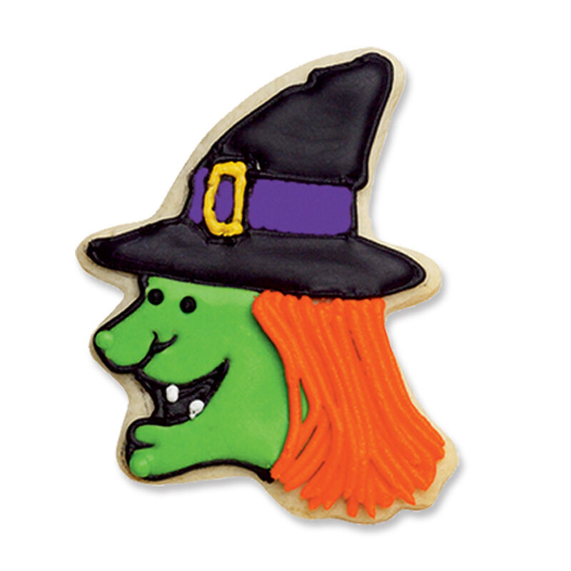 Whimsical Witch Cookie image number 0
