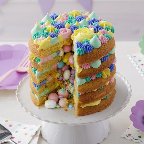 Surprise Inside Easter Cake Wilton