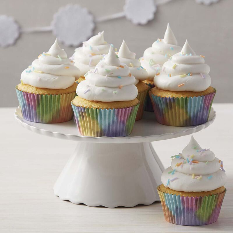 Wilton Light & Fluffy Rainbow Cupcakes image number 0