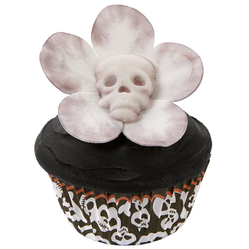 Pushing Up Daisies Halloween Cupcakes image number 0
