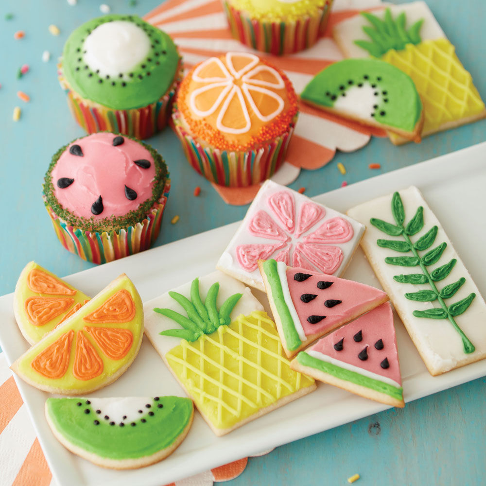 The Fruits Of Summer Cupcakes And Cookies Wilton