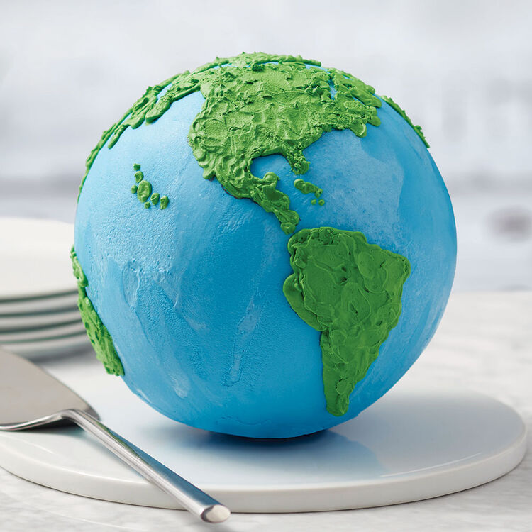 Ro Planet Earth 3D Cake