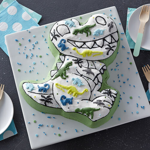 Dare to Dino Dinosaur Cake