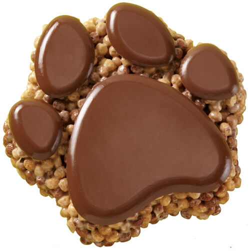 Gimme Your Paw! Crisped Rice Cereal Cake