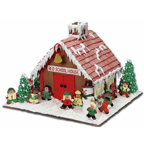 The Coolest Recess! Gingerbread House