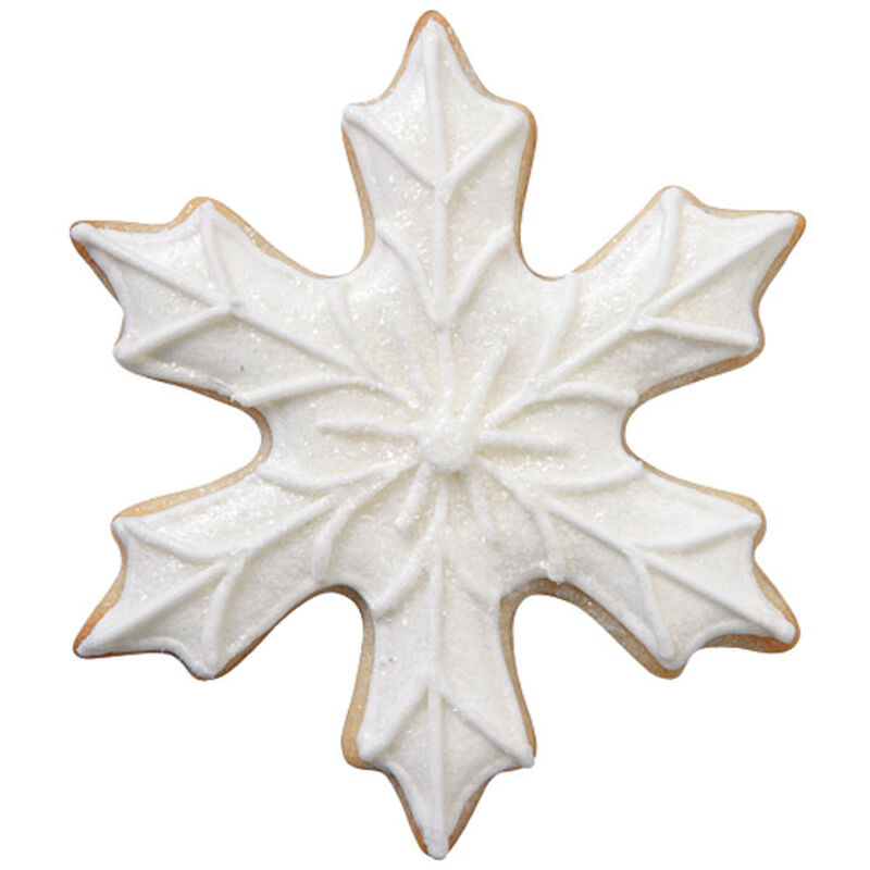 White Snowflake Cookie image number 0