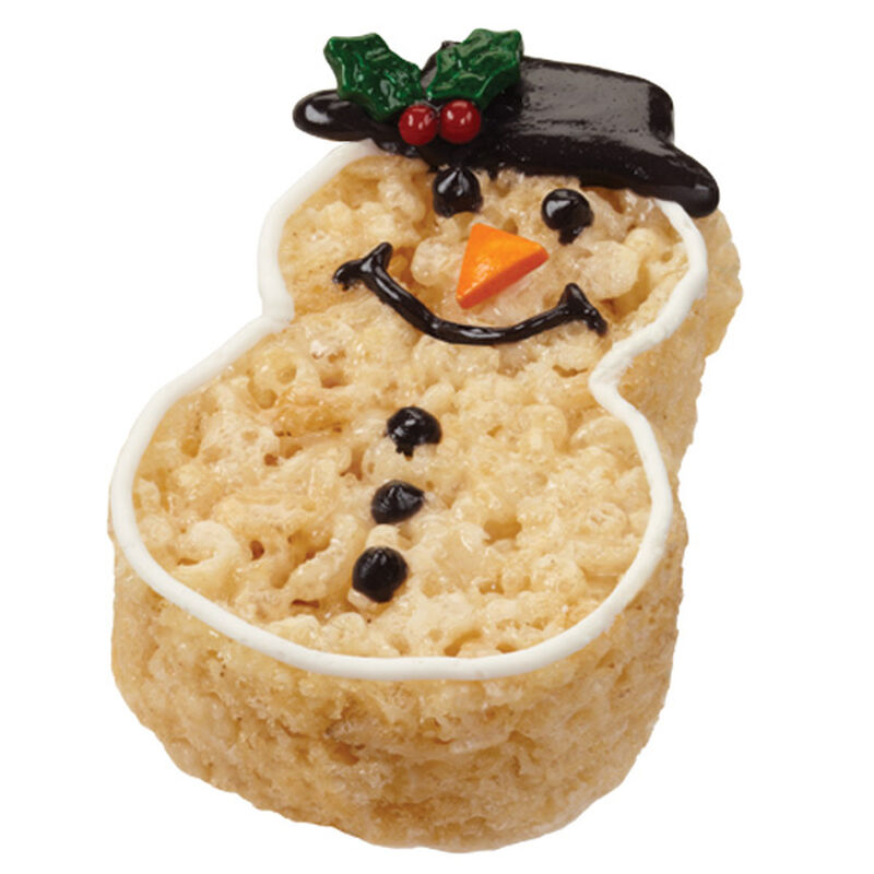 Crispy and Cheery Snowman Treats image number 0