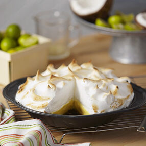 Key Lime Coconut Pie