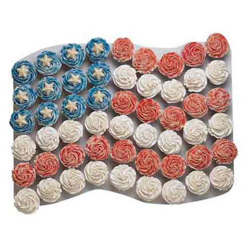 One Flag for All Cupcakes