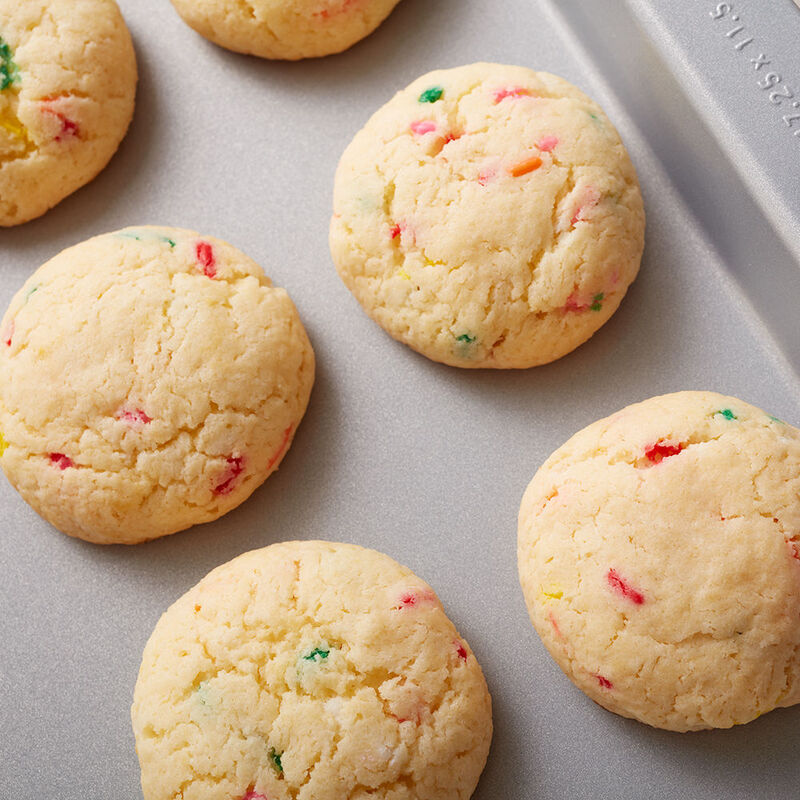 Confetti Cake Batter Cookies Recipe image number 1