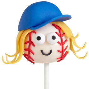 Batter Up, Girl Cake Pops