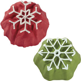 Snowflake Christmas Mini Cake